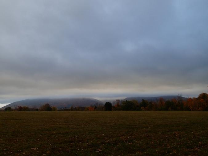Clouds over Greylock Range.